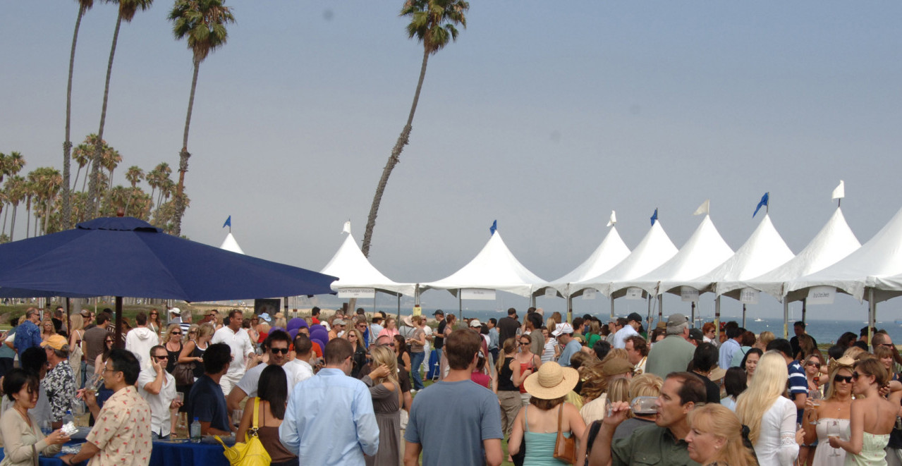 Largest Outdoor Wine Festival in Santa Barbara at California Wine Festival