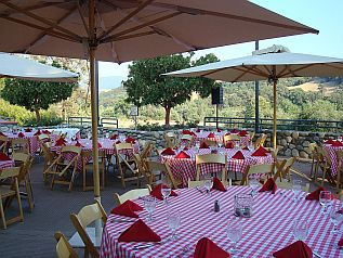 Lunch at River Grill, Alisal Guest Ranch, Solvang