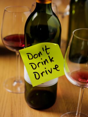 Don't Drink & Drive on Wine Tours
